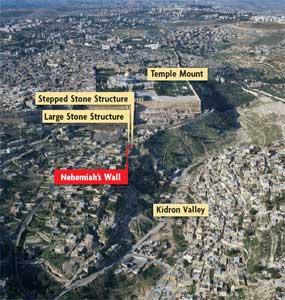 Mazar's Excavation
